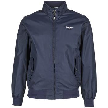 Textiel Heren Wind jackets Pepe jeans CONNOR Marine