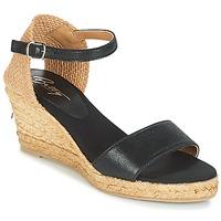 Schoenen Dames Sandalen / Open schoenen Betty London ANTE Zwart