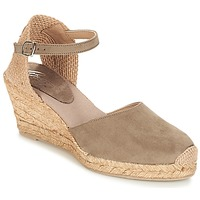 Schoenen Dames Sandalen / Open schoenen Betty London TECHNO TAUPE
