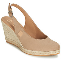 Schoenen Dames Sandalen / Open schoenen Betty London TECHNO Beige