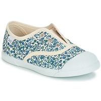Schoenen Meisjes Lage sneakers Citrouille et Compagnie RIVIALELLE Blauw / Multicolour