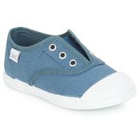 Schoenen Kinderen Lage sneakers Citrouille et Compagnie RIVIALELLE Blauw / Jeans