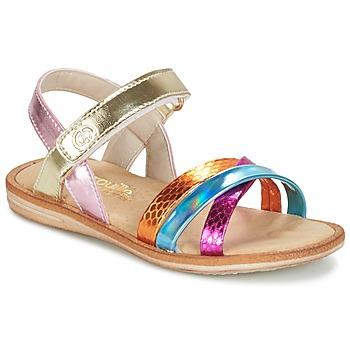 Schoenen Meisjes Sandalen / Open schoenen Citrouille et Compagnie MINIRAVI Multikleuren