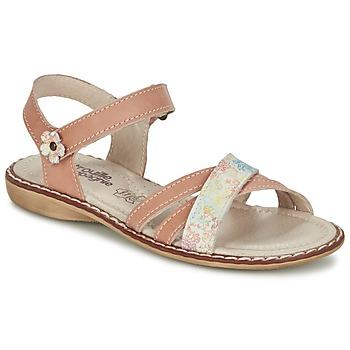 Schoenen Meisjes Sandalen / Open schoenen Citrouille et Compagnie JANDOLI Nude