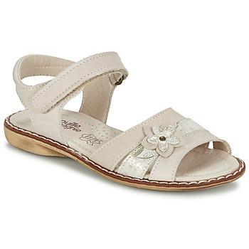 Schoenen Meisjes Sandalen / Open schoenen Citrouille et Compagnie ANDALIA Beige
