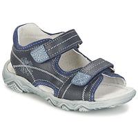 Schoenen Jongens Sandalen / Open schoenen Citrouille et Compagnie RAMTIGA Blauw