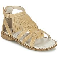 Schoenen Meisjes Sandalen / Open schoenen Citrouille et Compagnie CONQUITA Beige