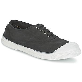 Schoenen Dames Lage sneakers Bensimon TENNIS LACET Carbone