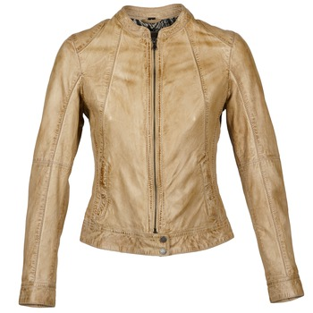 Textiel Dames Leren jas / kunstleren jas Oakwood 61712 Brown