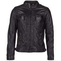 Textiel Heren Leren jas / kunstleren jas Oakwood CASEY Zwart