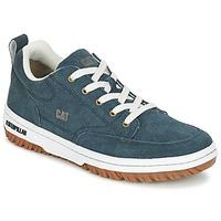 Schoenen Heren Lage sneakers Caterpillar DECADE SUEDE Blauw / Nacht