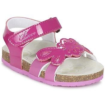 Schoenen Meisjes Sandalen / Open schoenen Chicco HAMALIA Roze