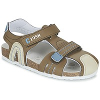 Schoenen Jongens Sandalen / Open schoenen Chicco HONEY Brown