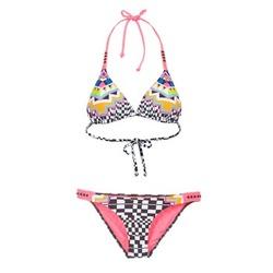 Textiel Dames Bikini's Rip Curl CANCUN TRISET Multikleuren