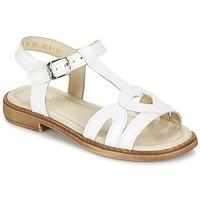Schoenen Meisjes Sandalen / Open schoenen Aster TCHANIA Wit