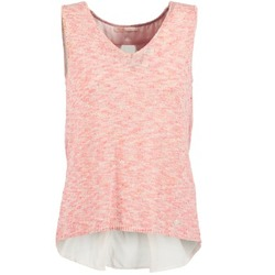 Textiel Dames Mouwloze tops LPB Woman NODOLA Corail