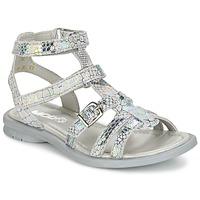 Schoenen Meisjes Sandalen / Open schoenen Mod'8 JUJU Zilver