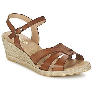 Schoenen Dames Sandalen / Open schoenen So Size ELIZA Brown