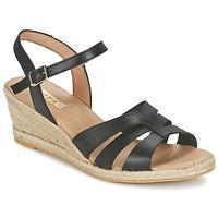 Schoenen Dames Sandalen / Open schoenen So Size ELIZA Zwart