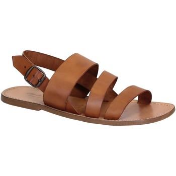 Schoenen Heren Sandalen / Open schoenen Gianluca - L'artigiano Del Cuoio 507 U CUOIO CUOIO Cuoio