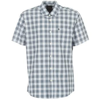 Textiel Heren Overhemden korte mouwen Quiksilver EVERYDAY CHECK SS Blauw
