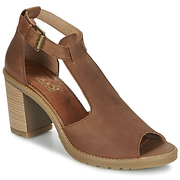 Schoenen Dames Sandalen / Open schoenen Casual Attitude GUIGNET  CAMEL