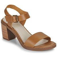 Schoenen Dames Sandalen / Open schoenen Casual Attitude CAILLE  camel