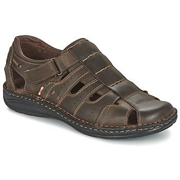Schoenen Heren Sandalen / Open schoenen Casual Attitude ZIRONDEL Brown