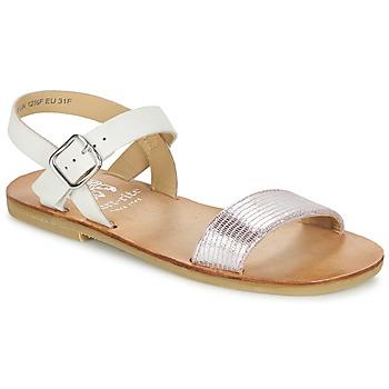 Schoenen Meisjes Sandalen / Open schoenen Start Rite FLORA II Roze / Wit