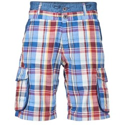 Textiel Heren Korte broeken / Bermuda's Desigual IZITADE Multikleuren