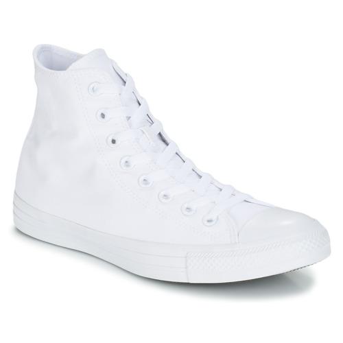 Schoenen Hoge sneakers Converse CHUCK TAYLOR ALL STAR MONO HI Wit