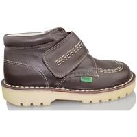 Schoenen Kinderen Hoge sneakers Rubio Y Castaño RUBIO Y CASTANO NAPA MARRON RALLYC MARRON