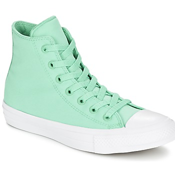 Schoenen Hoge sneakers Converse CHUCK TAYLOR All Star II NEON HI Groen