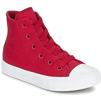 Schoenen Kinderen Hoge sneakers Converse CHUCK TAYLOR All Star II HI Rood