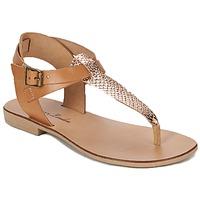 Schoenen Dames Sandalen / Open schoenen Betty London VITALLA  CAMEL / Roze