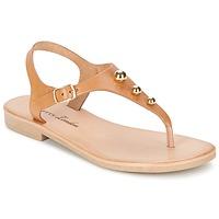 Schoenen Dames Sandalen / Open schoenen Betty London VITALLA  camel