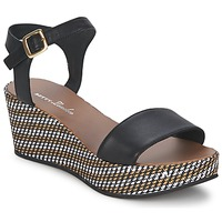 Schoenen Dames Sandalen / Open schoenen Betty London PRETA Zwart
