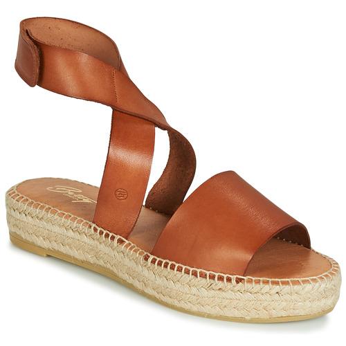 Schoenen Dames Sandalen / Open schoenen Betty London EBALUIE  camel