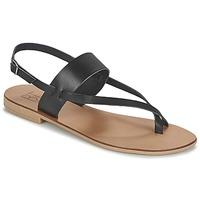 Schoenen Dames Sandalen / Open schoenen Betty London EVACI Zwart
