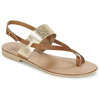 Schoenen Dames Sandalen / Open schoenen Betty London EVACI  camel / Goud