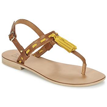 Schoenen Dames Sandalen / Open schoenen Betty London ELOINE Brown / Geel
