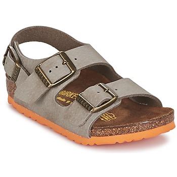 Schoenen Jongens Sandalen / Open schoenen Birkenstock MILANO Taupe