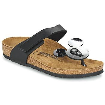 Schoenen Kinderen Slippers Birkenstock TOFINO MICKEY Zwart