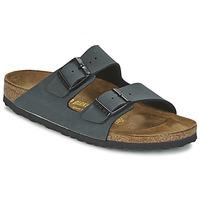 Schoenen Leren slippers Birkenstock ARIZONA Grijs