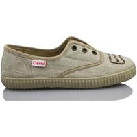 Schoenen Kinderen Lage sneakers Cienta NATURAL ELASTICO MARRON