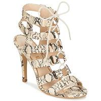 Schoenen Dames Sandalen / Open schoenen Ravel OMAK Beige / Python