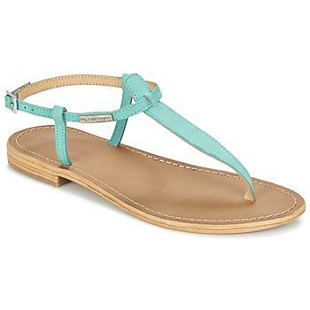 Schoenen Dames Sandalen / Open schoenen Les Tropéziennes par M Belarbi NARBUCK TURQUOISE