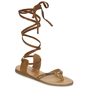 Schoenen Dames Sandalen / Open schoenen Les Tropéziennes par M Belarbi GALTANO  CAMEL