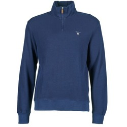 Textiel Heren Truien Gant HONEYCOMB SWEAT Marine