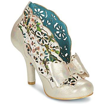 Schoenen Dames Low boots Irregular Choice SASSLE Irisé / Beige / Bloemen